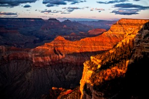 Grand Canyon A few minutes before sunset